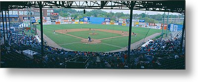 Bill Meyer Stadium, Aa Southern League Metal Print by Panoramic Images