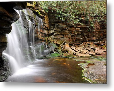 Metal Print featuring the photograph Blackwater Falls by Dung Ma