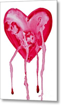 Bleeding Heart Metal Print by Michal Boubin