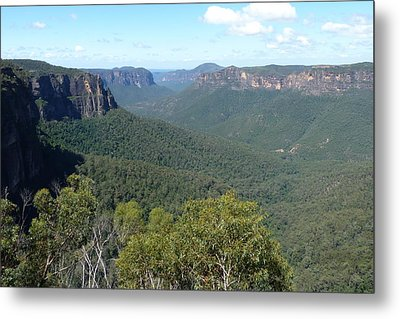 Blue Mountains Metal Print by Carla Parris