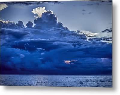 Blue On Blue Metal Print by Dave Bosse