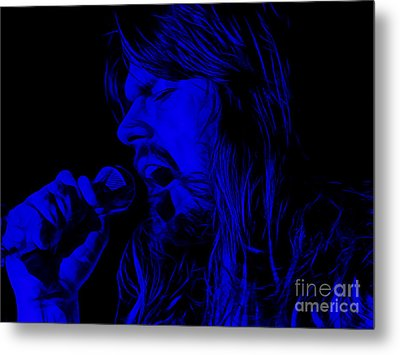 Bob Seger Collection Metal Print by Marvin Blaine