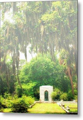 Bonaventure Cemetery Savannah Ga Metal Print by William Dey