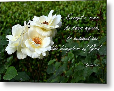 Born Again Metal Print by Larry Bishop