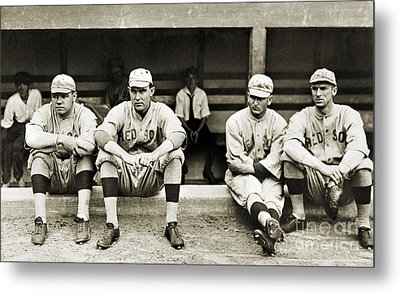 Boston Red Sox, C1916 Metal Print by Granger