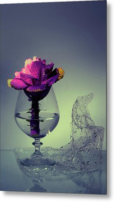 Bouquet Metal Print by larisa Fedotova