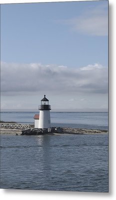 Brant Point - Nantucket Metal Print by Henry Krauzyk