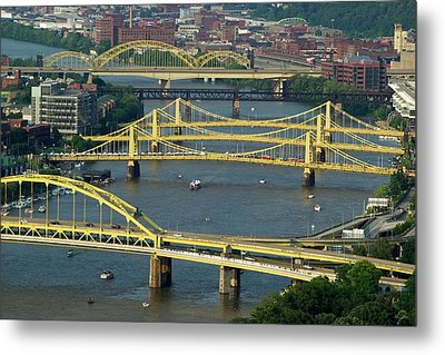 Bridges Of Pittsburgh Metal Print