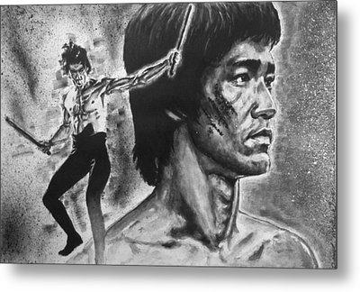 Bruce Lee Metal Print
