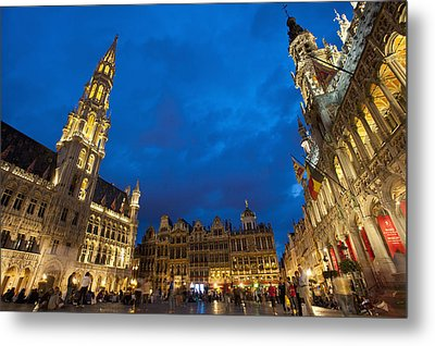 Brussels, Belgium Metal Print by Axiom Photographic