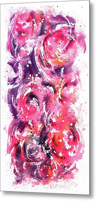 Bubbles Metal Print by Rachel Christine Nowicki