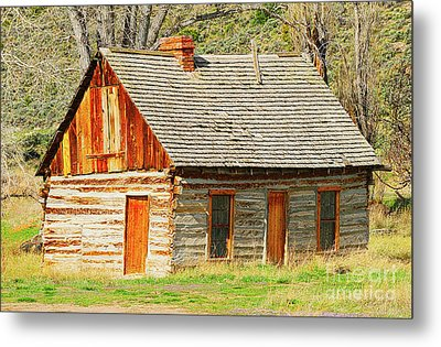 Butch Cassidy's Family Homestead Metal Print by Dennis Hammer