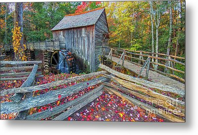 Cable Mill Metal Print