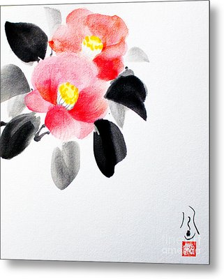 Camellia / Tsubaki Metal Print