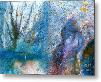 Canadian Doukhobors In Springtime Metal Print by Contemporary Luxury Fine Art