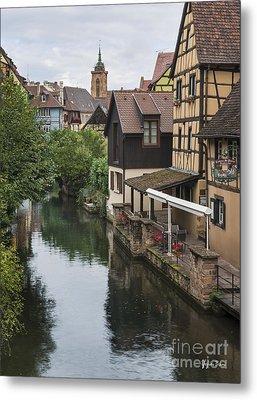 Canals Of Colmar Metal Print