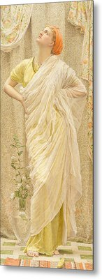Canaries Metal Print by Albert Joseph Moore