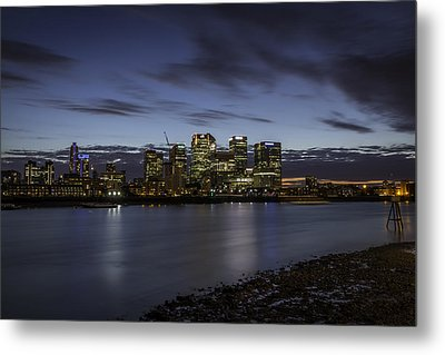 Metal Print featuring the photograph Canary Wharf by Ryan Photography