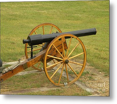 Cannon Metal Print by Frederick Holiday