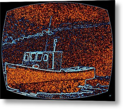 Cape Breton Fishing Boat Metal Print by Will Borden
