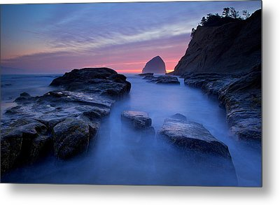 Metal Print featuring the photograph Cape Kiwanda by Evgeny Vasenev
