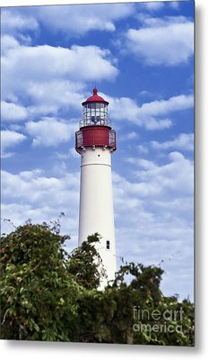 Cape May Lighthouse Metal Print by John Greim