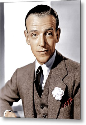 Carefree, Fred Astaire, 1938 Metal Print