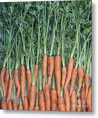 Carrots Metal Print