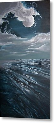 Changing Tide Metal Print by Kathleen Romana