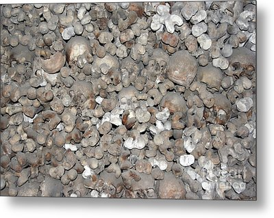 Metal Print featuring the photograph Charnel House by Michal Boubin