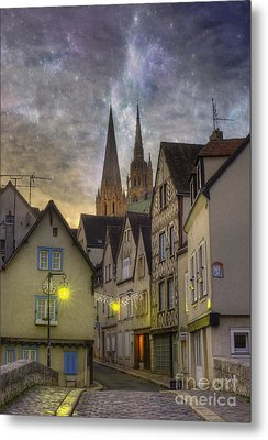 Chartres France Metal Print by Juli Scalzi