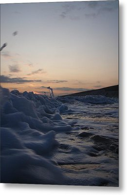 Metal Print featuring the photograph Chasing Dusk by Mira Cooke