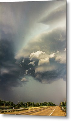 Another Stellar Storm Chasing Day 019 Metal Print