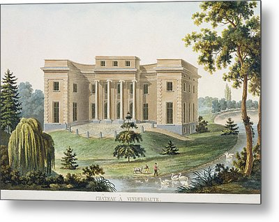 Chateau At Vinderhaute Metal Print by Pierre Jacques Goetghebuer