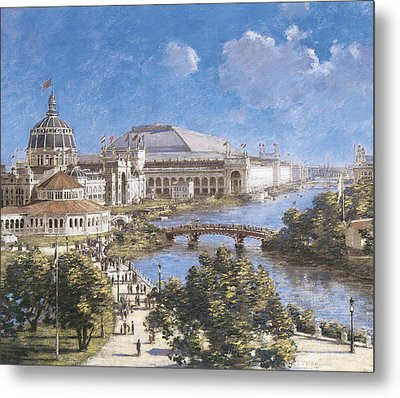 Chicago Columbian Exposition Metal Print by Theodore Robinson