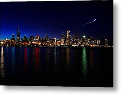 Chicago-skyline 3 Metal Print
