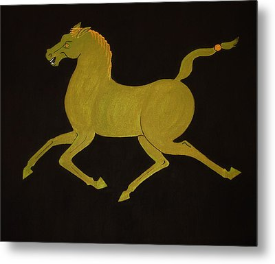 Chinese Horse #2 Metal Print by Stephanie Moore