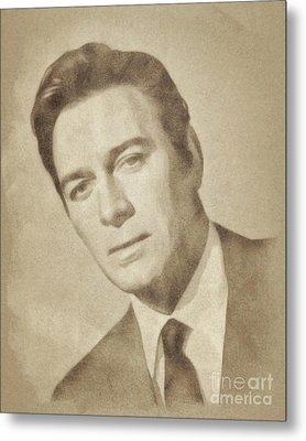 Christopher Plummer, Vintage Actor By John Springfield Metal Print