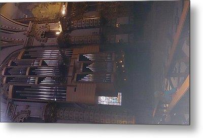 Church Organ  Metal Print