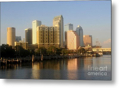 City By The Bay Metal Print by David Lee Thompson