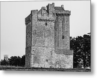 Clackmannan Tower Metal Print