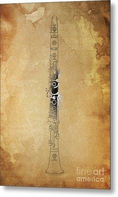 Clarinet 21 Jazz B Metal Print