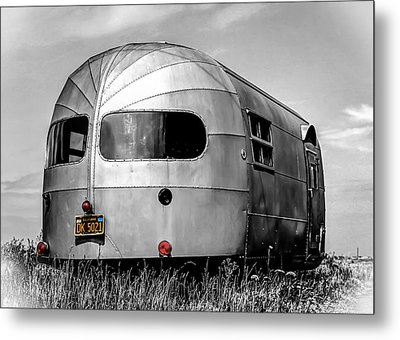 Classic Airstream Caravan Metal Print