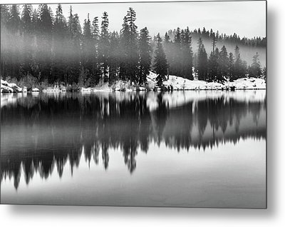 Metal Print featuring the photograph Clear Lake by Cat Connor