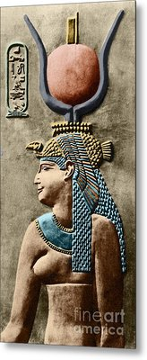 Cleopatra Vii Metal Print by Sheila Terry