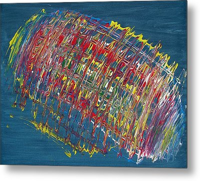 Color In Motion Metal Print by Michael Runner