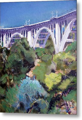 Colorado Street Bridge Metal Print by Richard  Willson