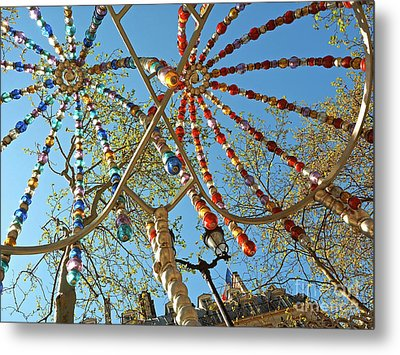 Colourful Canopy Metal Print by Alex Cassels