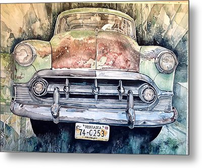 Condon's Coupe Metal Print by Lance Wurst