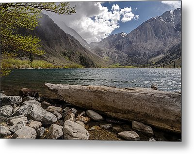 Convict Lake Metal Print by Cat Connor